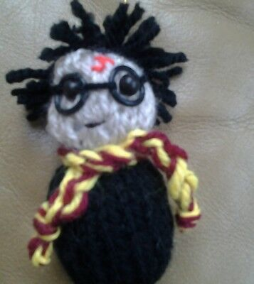 Knitted harry potter tree decoration.  made to my own design others listed