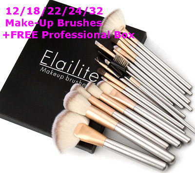 24pcs Make up Brushes Set Cosmetic Foundation Powder Makeup Brush Kit Pouch Case