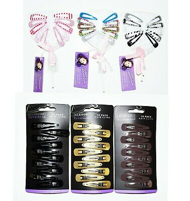 4x Scrunchie Bow Kids Elastic Bands Girls Hair Tie Bobble Hair Band Pony Tail