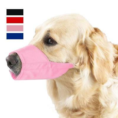 Berry-Pet Dog Pet Safety Mouth Cover Muzzle Adjustable Anti Bite Chew Bark