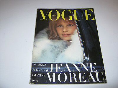 vpk / original VOGUE paris Nr. 512 D/J 1970/71 JEANNE MOREAU Mode Models (93.)