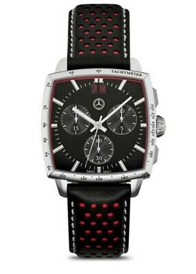 Original Mercedes-Benz Chronograph Wrist Watch Classic Ralley for Men Black