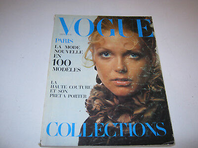 vpk / original VOGUE paris Nr. ....sept. 1969 Models Modefotografen (105.)