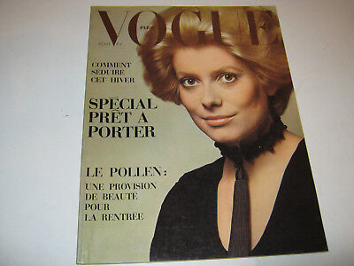 vpk / original VOGUE paris Nr. ...Aout 1969 Models Modefotografen (107.)