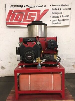 Used Hotsy 1260SSG Hot Water Gas / Diesel 4.5GPM @ 2500PSI Pressure Washer