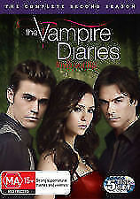 Vampire Diaries : Season 2 (DVD, 5-Disc Set) R-4, LIKE NEW, FREE POST AUS-WIDE