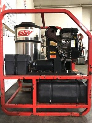 Used Hotsy 1285SSG Hot Water Gas / Diesel 5GPM @ 3500PSI Pressure Washer