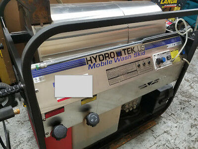 Used Hydro Tek SC35006HG Hot Water Gas / Diesel 5.5GPM @ 3500PSI Pressure Washer