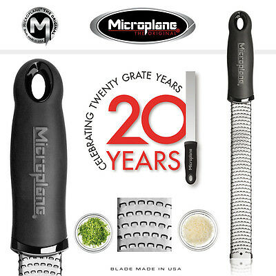 Microplane Premium Grater/zester Black  Brand New Unused