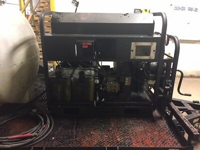 Used Mi-T-M HS-3006 ALL Diesel 5.6GPM @ 3000PSI Pressure Washer Trailer Setup
