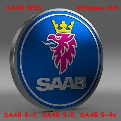 SAAB WIS 64bit (02.2012) for Windows x64 for SAAB 9-3 SAAB 9-5 SAAB 9-4x