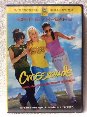 Crossroads: Special Collectors Edition DVD Britney Spears Zoe Saldana RARE OOP!