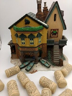 "Department 56 Heritage Village Dickens' Village Series ""The Grapes Inn"" 5th Ed"