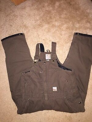 Berne Insulated Overalls Youth