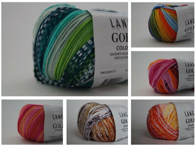 Lang Yarns Golf Color