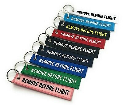 Remove Before Flight Keychain Keyring Tag Aviation | UK | Fast Dispatch