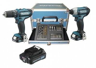 Kit Avvitatori Makita Clx 202 Sax2 - Hp331D - Td110D - 3 Batterie 10,8V 2.0Ah