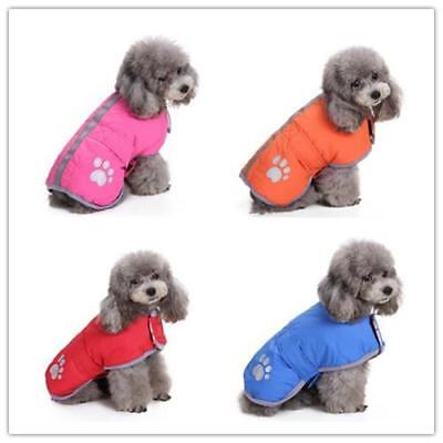 Waterproof Dog Coats Winter Reflective Pet Clothes for Small Large Dogs