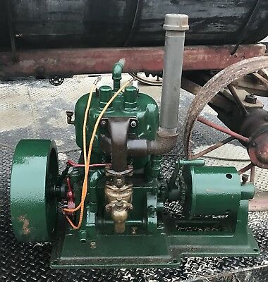 Antique 8HP Cushman Hit Miss Engine