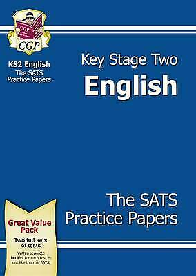 KS2 English SATs Practice Paper Pack (for the New Curriculum) by CGP Books...