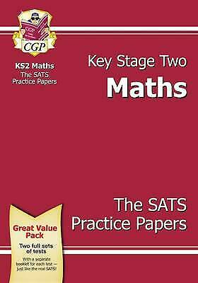 KS2 Maths SATS Practice Paper Pack (for the New Curriculum) by CGP Books...
