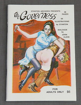 "1975 1st Edition (Eric) Stanton Archives presents ""THE GOVERNESS"""