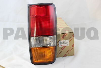 8156160253 Genuine Toyota LENS, REAR COMBINATION LAMP, LH 81561-60253