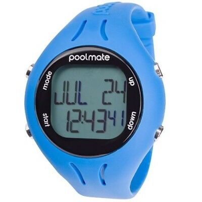 (n/a, Blue) - Swimovate 2 Pool Mate 2 Swim Watch-Purple. Free Delivery