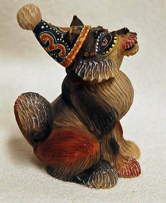 """G DeBrekht """"Corky the Dog"""" Join the Circus Series Limited Edition Figurine"""