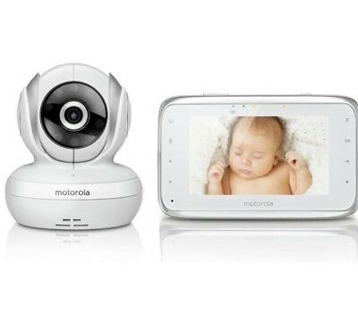 Motorola MBP38s Baby Monitors Video CCTV Monitor Safety Reduced To Clear