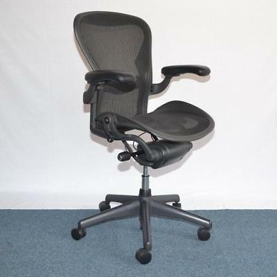 Herman Miller Aeron Mesh Office Chair Small Size A fully adjustable Black