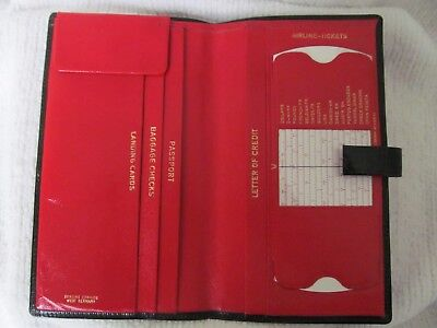 Vintage Leather Passport Case - Made in West Germany