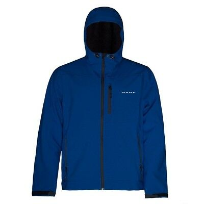 (XXXX-Large, Blue) - Grundens Gauge Midway Softshell Jacket. Brand New