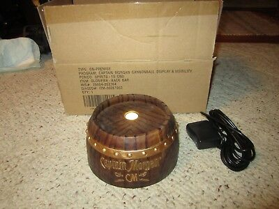 2014 Never Used Captain Morgan Glorifier Back Bar Cannonball Display Lights Up!!