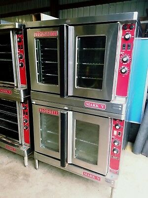 Blodgett Electric Mark V-111 Double Stack Deck Full Size Convection Oven