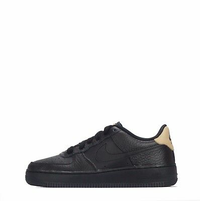 Nike Air Force 1 LV8 Low Junior Youth Shoes Black/Black