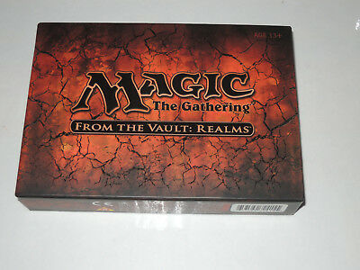 Magic the Gathering - From the Vault: Realms - Sealed Box Set.