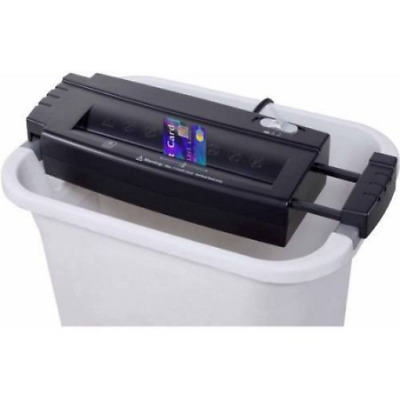 Commercial Office Shredder Paper Destroy Strip-Cut Heavy-duty Cd Dvd Credit Card