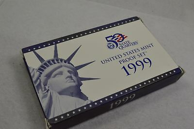 1999 State Quarters United States Mint Proof Set New CO-4