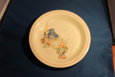 Homer Laughlin China Kitchen Kraft Oven serve Deep Pie Dish Plate Vintage