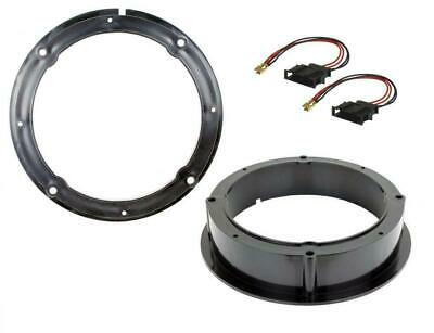 VW Volkswagen Golf MK7 Front Door Speaker Adaptor Rings Spacers Kit 165mm 6.5""