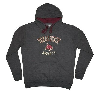 (Large, DarkGrey) - NCAA Youth TEXAS STATE BOBCATS Athletic Pullover Hoodie /