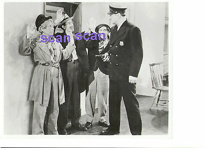 Marx Brothers Groucho Harpo Chico At The Circus Police 1937 Vintage Press Photo