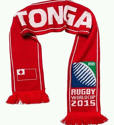 Rugby World Cup 2015 - Tonga Scarf - Collectors item BNWT