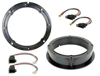 VW Volkswagen Passat Front Door Speaker Adaptor Rings Spacers Kit 165mm 6.5""