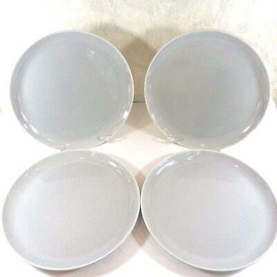 "Vtg Set of 4 WS George Gray Dinner Plates 10"" Hand Glazed by Cavitt-Shaw 107A"