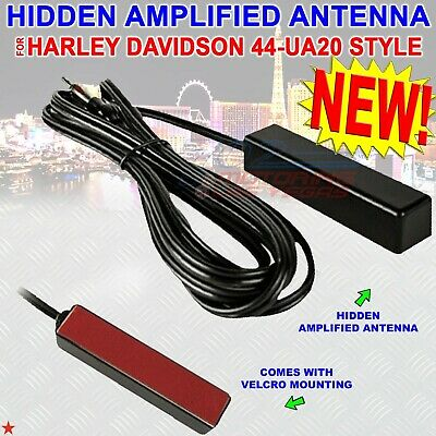 Antenna XX Hidden AMPLIFIED Antenna for HARLEY DAVIDSON Antenna XX 44-UA20 Style