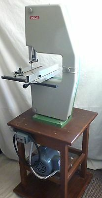 INCA 342 Bandsaw with Baldor Industrial Motor and Stand