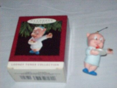 Keepsake Ornament Porky Pig Looney Tunes Collection - 1993