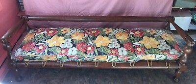 Antique Rope Bed - Tigar Wood (Restored)